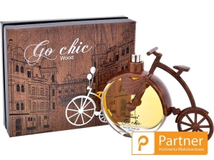 WODA PERFUMOWANA GO CHIC WOOD 100 ML