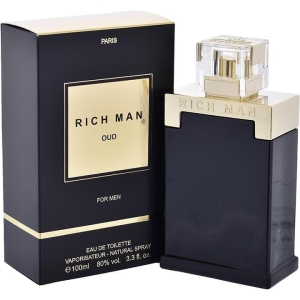WODA TOALETOWA RICH MAN OUD FOR MEN 100 ML MĘSKA