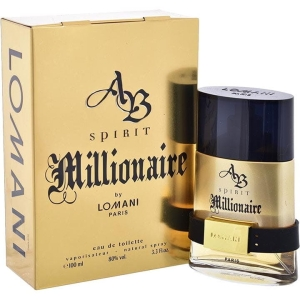 WODA TOALETOWA LOMANI MILLIONAIRE FOR MEN 100 ML MĘSKA