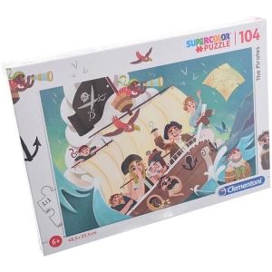 PUZZLE 104 EL. THE PIRATES