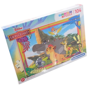 PUZZLE 104 EL. LION GUARD